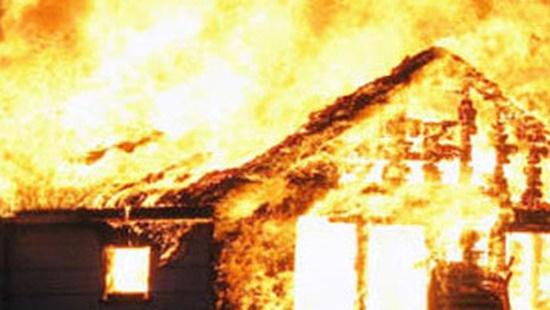 Mo thấy cháy nhà
